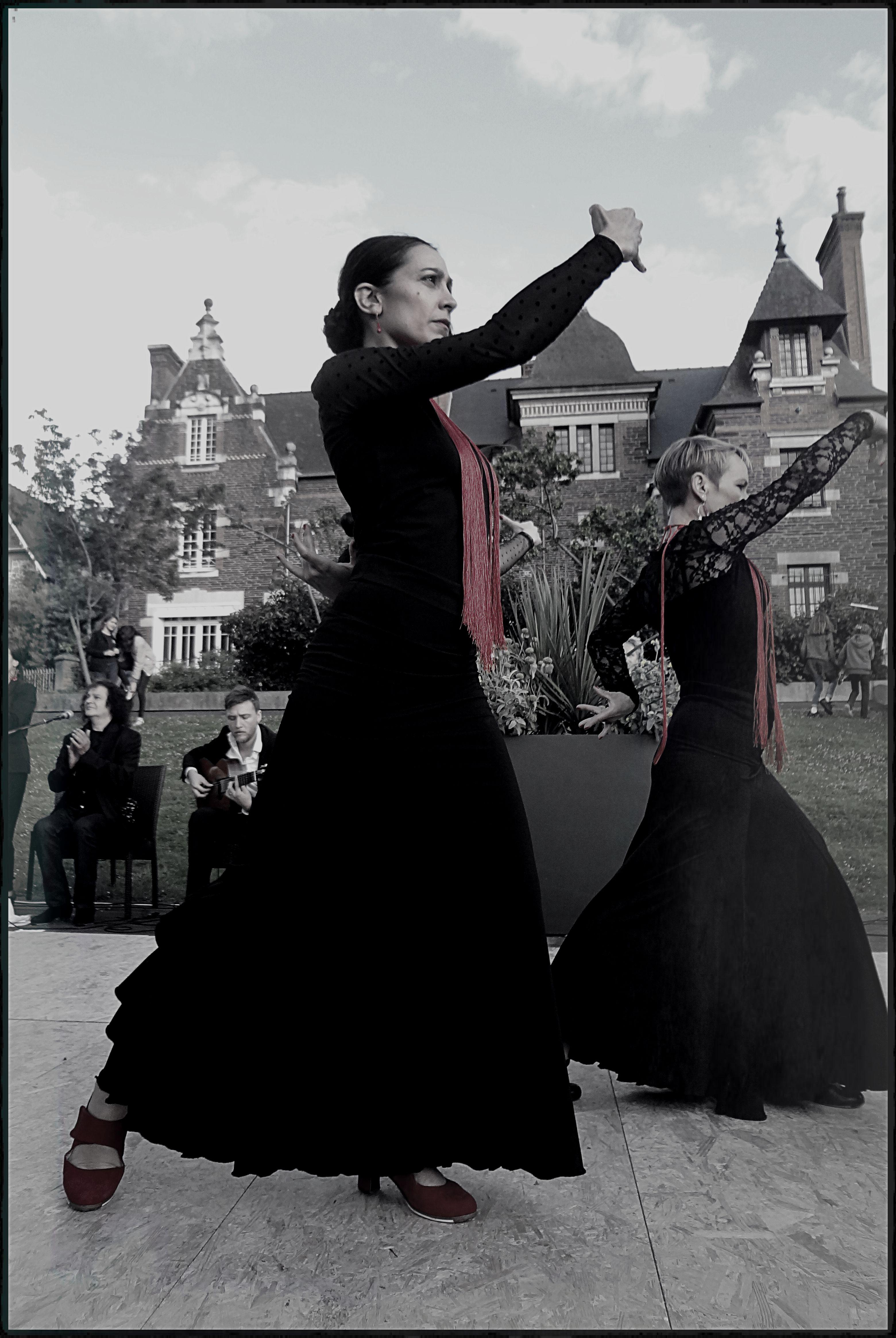 Flamenco 2 danseuses D