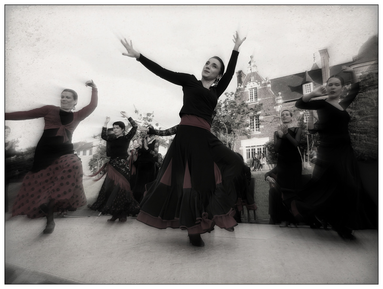 Flamenco 3 danseuses D